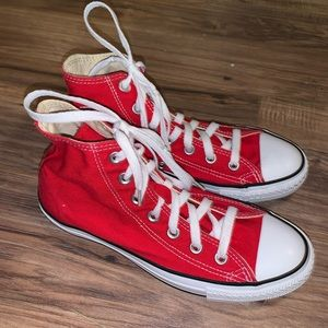 Unisex High Top Converse Sneaker Shoes Sz 6 8